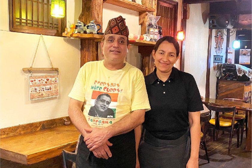 BIGなナンがお出迎え!ネパール出身チェトリー夫妻が創る癒しの「サレガマ」
